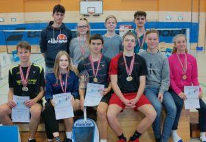 ÖM Jugend: 4x Gold für den BC Smash Graz