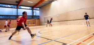 LH -Stv. Schickhofer matcht sich beim Badminton in Graz